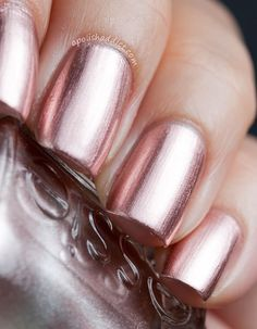 essie-penny-talk, rose gold