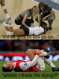 Volleyball vs Soccer soccer is weak