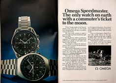 Speemaster ad 1958 photo by GaryLittle Old Watches, Vintage Watches, Watches For Men, Omega Speedmaster Moonwatch, Watch Ad, Watch Photo, Cool Websites, Casio Watch, Luxury Watches