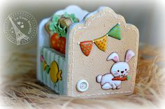 Carrot cookie box by Fabiana