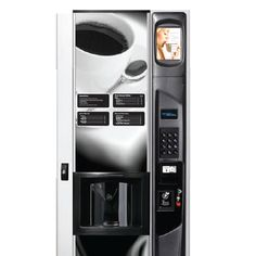 The USI Geneva coffee vending machine is ADA compliant and has 11 major selections with up to 34 beverage combinations of coffees, hot chocolate, tea, cappuccino, and espresso. Available in a fresh brew coffee model and a freeze-dried coffee model. Coffee Vending Machines, Ada Compliant, Dorm Ideas, Geneva, Freeze, Hot Chocolate, Espresso, Brewing, Coffee Cups