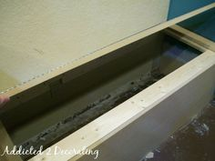 How To: Build A Banquette Seat With Storage...this is for under the window in the alcove.