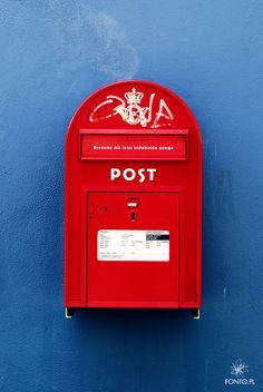 The Well known Danish Mailbox.