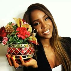 Kelly Rowland hair color