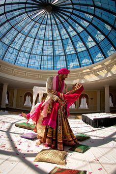 A beautiful capture of a Punjabi wedding