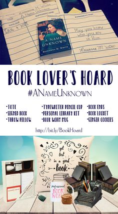 I'm so excited about the release of A Name Unknown that I'm throwing a giveaway full of items that fit right in with the library and book t...