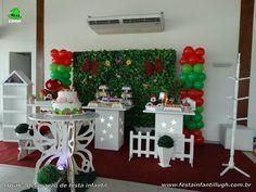 Decoração Jardim Encantado, mesa temática infantil
