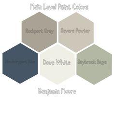 Main Floor Remodel Paint Colors