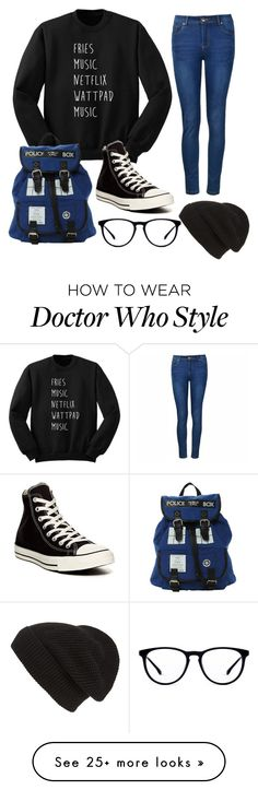 """Nerd ✌️"" by xxfloralheartxx on Polyvore featuring Converse, Ally Fashion and Phase 3"