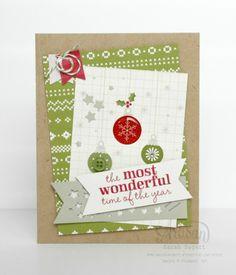 Seasonal Snapshot Project Life card ~ Sarah Sagert