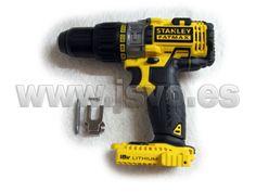 Taladro percutor 18V Stanley FatMax FMC625-XJ SIN baterías ni cargador - Reversible y electrónico #herramientas #bricolaje #taller #Stanley #FatMax