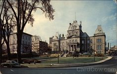 Divided Back Postcard The Court House Sherbrooke, QC Canada Quebec Canada, Montreal Quebec, Photos, House, City, Pictures, Home, Homes, Houses