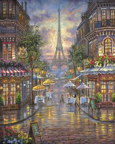 Le Paris Café, Paris France.