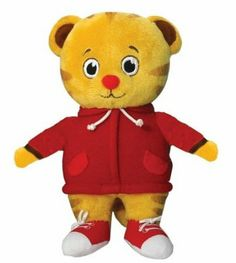 "Amazon.com : Daniel Tiger's Neighborhood 7"" Plush - Daniel Tiger : Plush Animal Toys : Toys & Games"