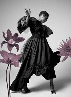 HARPER'S BAZAAR UK Lashana Lynch by Richard Phibbs. Leith Clark, December 2020, www.imageamplified.com, Image Amplified3 Female 007, Beauty Portrait, Dita Von, Air France, California Style, Gisele, Harpers Bazaar, Lynch, Fashion Stylist
