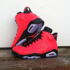 416bc07af342  ReleaseReport  Jordan Retro 6 in black and infrared drops February 15th.  Is this