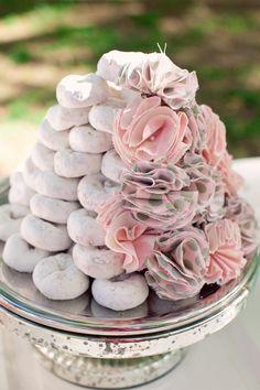CAKE. | events + design: Tutorial: Pretty Powdered Donut Tower