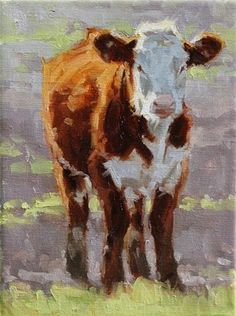 "Daily Paintworks - ""Fella"" - Original Fine Art for Sale - © Kate Mueller"
