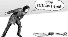 STOP fighting #piedrapapelytijera #humor