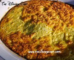 Meat Bobotie - Boma and Tusker House - The Disney Chef Disney Food, Disney Recipes, Bobotie Recipe, Home Recipes, Cooking Recipes, Tusker House, Yummy Food, Tasty, Copycat Recipes