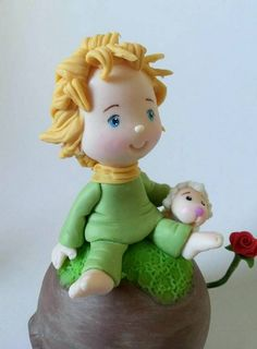 topo de bolo para festa pequeno principe, peça decorativa para o bolo ou para mesa do bolo.