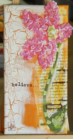 """PAINTING : """"believe"""" - SOLD"""