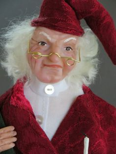 Not Santa but Scrooge