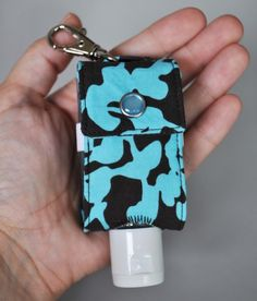 Hand Sanitizer Keychain Holder  The ORIGINAL by RhyahPapaya