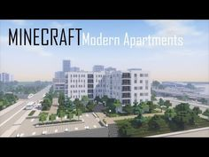 Minecraft Modern Apartment Building 6 (full interior) + Download - YouTube Minecraft Modern City, Minecraft Building Designs, Minecraft City Buildings, Minecraft House Tutorials, Minecraft Houses Blueprints, Minecraft Architecture, Minecraft Creations, Minecraft Projects, Minecraft Stuff