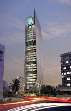 29 storey building by Atkins. Nicosia - Cyprus