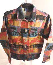 Jane Ashley Tapestry Jacket Size Small