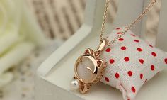 Ahmed Jewelry Fashion Alloy Cat Statement Necklace For Woman 2015 New necklaces & pendants Sale N12-in Pendant Necklaces from Jewelry & Accessories on Aliexpress.com | Alibaba Group