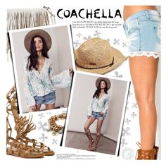 """""""Coachella Style"""" by pokadoll ❤ liked on Polyvore featuring Ash, Rebecca Minkoff, Dot & Bo, Lizzy James and seasideboutique"""