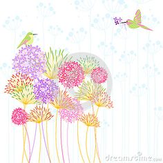 Colorful Hummingbird And Flower - Download From Over 24 Million High Quality Stock Photos, Images, Vectors. Sign up for FREE today. Image: 41341034