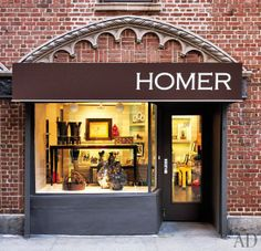 Richard Mishaan Reopens His Boutique, Homer : Architectural Digest