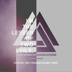 Two Evils - Bastille Will Farquarson, Bastille Lyrics, Kyle Simmons, Nothing But Thieves, Two Door Cinema Club, Bae, Dan Smith, Royal Blood, One Republic
