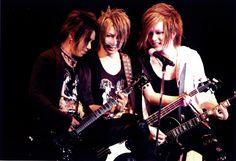Aoi, Reita and Uruha of The Gazette