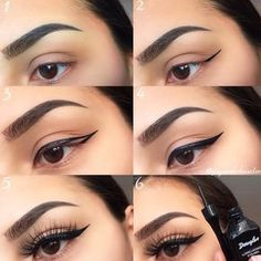 Classy Eyeliner Tutorial ★ Best makeup tips for . - Classy Eyeliner Tutorial ★ Best makeup tips for . Classy Eyeliner Tutorial ★ Best makeup tips for people with almond eyes, anything on the scale from eyeshadow to eyeliner is covered! Best Makeup Tips, Makeup Hacks, Best Makeup Products, Makeup Ideas, Makeup Tutorials, Brows Products, Nail Ideas, Beauty Products, Makeup Tutorial Eyeliner