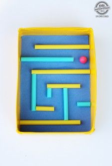 marble maze feature