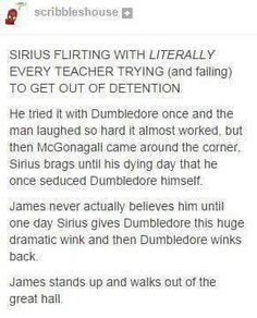 Well, Dumbledore is gay.......