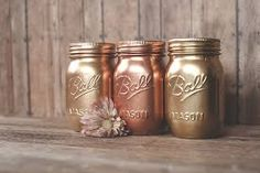 copper mason jars - Google Search