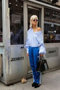 Street Style New York Fashion Week SS17 Day 4 - Image 10