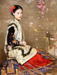 Il mondo di Mary Antony: Le bellissime cinesine di Der Jen (Dezhen)Taiwan artist