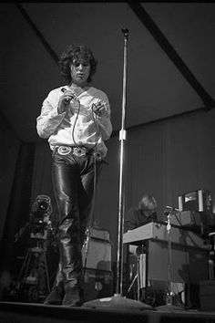 The very sexy Jim Morrison