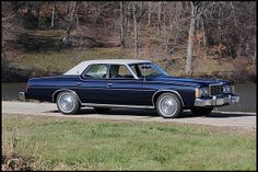 1978 Ford LTD Midnight Blue with Gray vinyl top 35,000 miles
