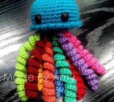 Patron Amigurumi Crochet : Ursula la méduse – Made by Amy