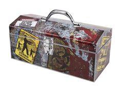 "16"" Zombie Art Deco Tool Box by Sainty Art Works $10 + Free Store Pick-up"