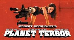Planet Terror Poster Movie L 11x17 Kurt Russell Rose McGowan Rosario Dawson Jeff Fahey Approx. Size: 11 x 17 Inches - 28cm x 44cm Style L mini poster Horror Movie Characters, Cult Movies, Movies Showing, Movies And Tv Shows, Zombies, Jeff Fahey, Terror Movies, Zombie Gifts, Danny Trejo