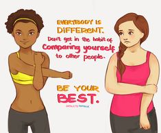 """""""Comparison is the thief of joy."""" Learn to accept and embrace your body and exercise because you love it. #health #selflove #stopfitspiration"""