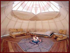 Tipi Interiors | Reese Tipis / Tipi Interiors, Tepee, Teepee / DSCN5210